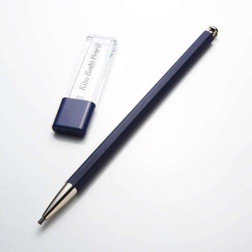 日本北星 大人的鉛筆 ~彩 藍色 (藍筆身+藍筆芯削)