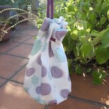 【泡泡展限定】夏日氣泡圓筒包-綠紫