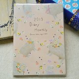 amifa 2015 迷你手帳+筆記本【27761 小綿羊-粉紅】