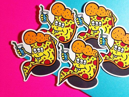 PIZZA HOT--LINE貼圖系列 // 貼紙