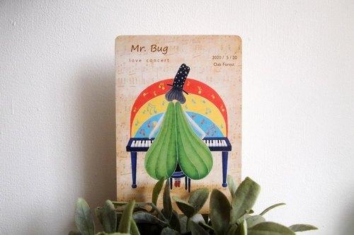 《Mr. Bug》明信片
