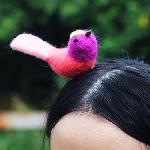 morningbird小鳥系列 粉紅火焰鳥 獨家設計款 早起的鳥有蟲吃