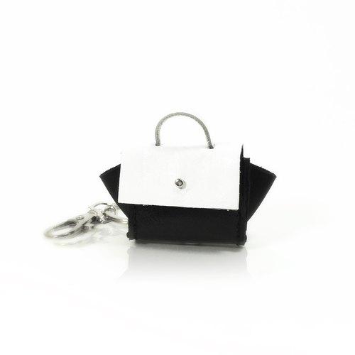 Miniature leather crafts. Celine handbag key ring. Customizable ...