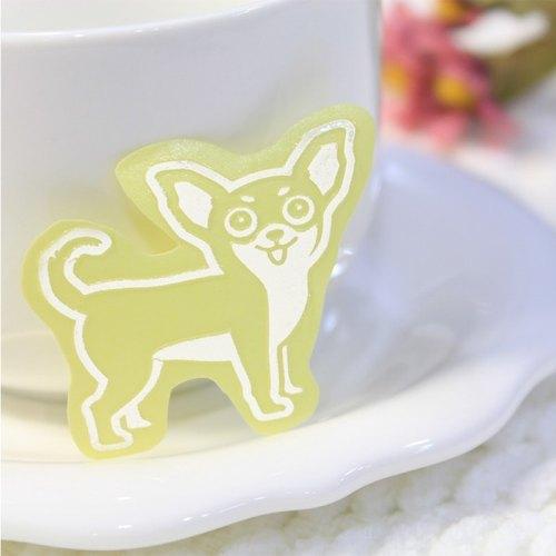 [反光寵物貼紙] 吉娃娃.萌犬出沒.設計貼紙.毛孩禮物.NINKYPUP