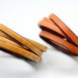 雙繞皮革手環(1.2cm)-大地系列