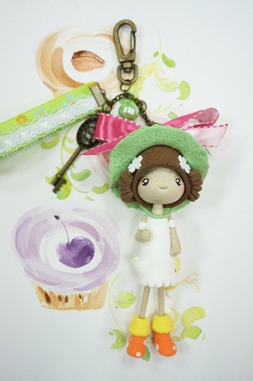girl可爱模样 森林里的小动物们纷纷上门选购 对koli 娃娃的吊饰 可是