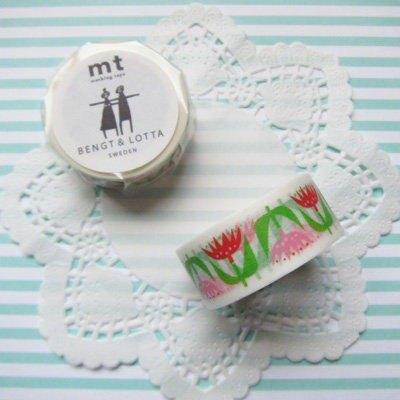 mt 和紙膠帶 mt x Bengt&Lotta【Tulip(MTBELO02)】