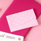 Vacii Hello business card holder - Pink
