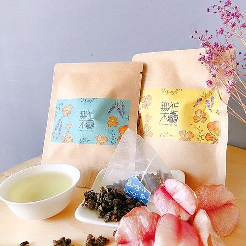 【無花不茶】單入裝—3 g三角茶包 【 Flower Mix Taiwan Tea】- 3g * 1 pick.