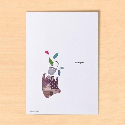 大豐收。Peio明信片Postcard。聖誕交換禮物。生日禮物。女生禮物。創意禮物。