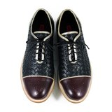 Dandy Duke M1114 Black Burgundy