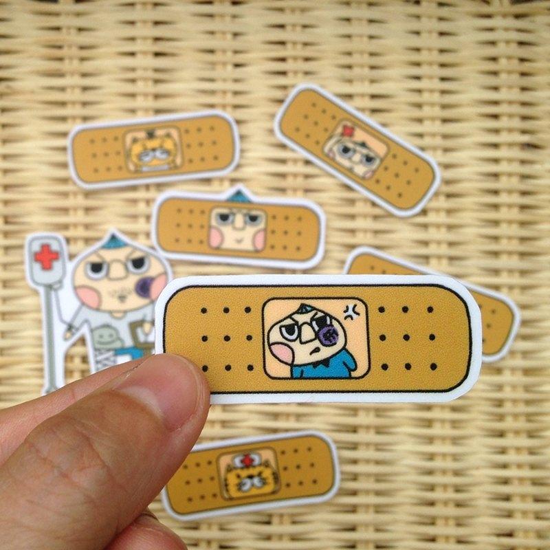 LeeP手繪貼紙-栗子先生和貓咪的OK蹦 - LeeP's Doodle ...