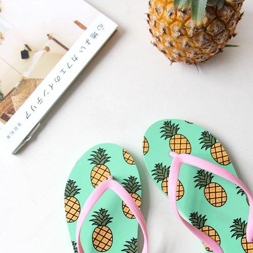 U-PICK原品生活 2015年夏季新款女夹趾防滑人字拖沙滩鞋凉鞋