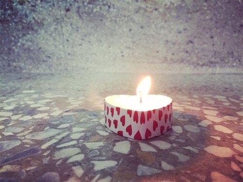 心心精油大豆蠟燭
