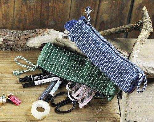 尼泊尔公平贸易手工编织动物造型铅笔袋