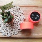 maste Masking Tape 和紙膠帶 Basic 亮眼螢光系【螢光紅 (MST-MKT07-RE)】