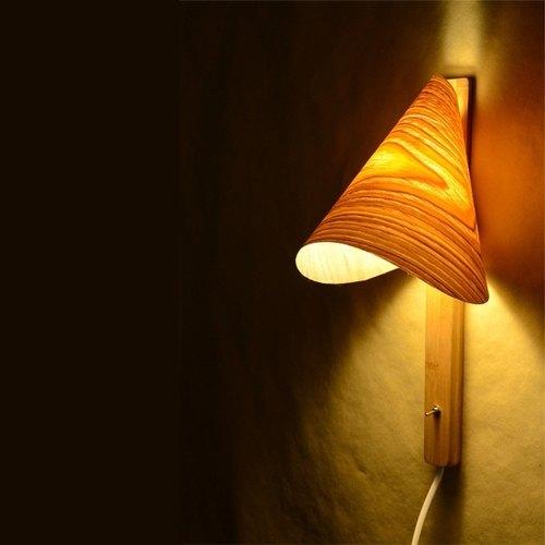 木制壁灯|纯手工作品|馈赠礼品|独立品牌|第七天堂×