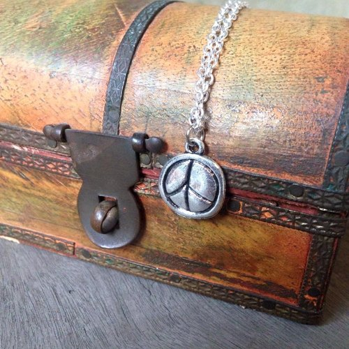 【Story Necklace 故事項鍊】不規則PEACE