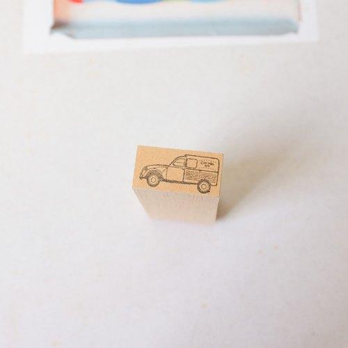 [印章]編號043 雪鐵龍Citroen 2CV 箱型車