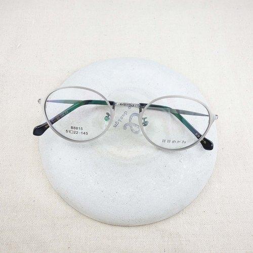 复古金属圆框眼镜