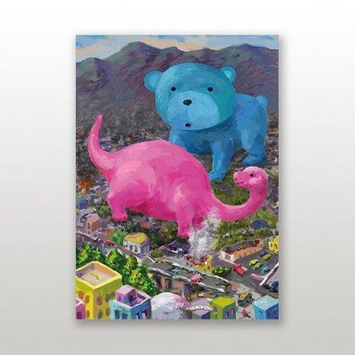 【BestFriend】Graphic Postcard 圖像名信片 / Monsters