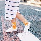 右手超人襪-閃電橘子