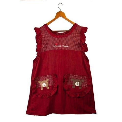 丝光绵围裙-可爱小熊
