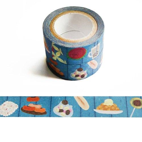 和紙膠帶:點心舖子系列 臺式懷舊點心櫃