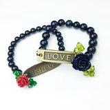 『Believe & Love』黑瑪瑙&玫瑰