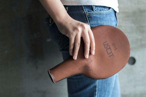 皮革手工 桌球拍套 刀板