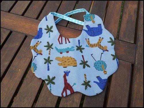 涂鸦动物园 宝宝口水巾