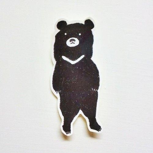 原创设计 ▲台湾动物 台湾黑熊 中贴纸 爱动物从台湾国宝熊,最可爱的