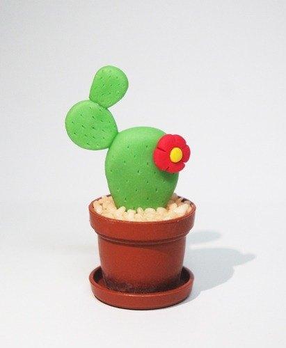 可爱仙人掌小盆栽