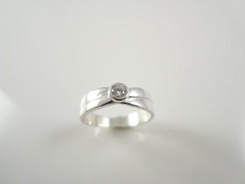 Marry me - 純銀寶石戒指