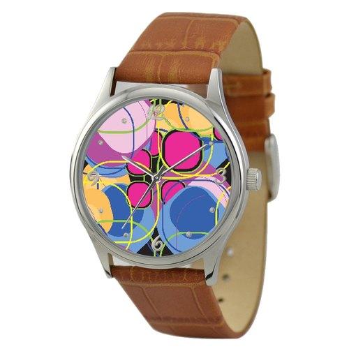 彩色图案手表3