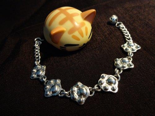 【CaitSith】喵星人的誘惑 貓掌 肉球 肉掌 純銀手鍊