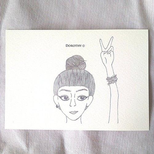 萬用明信片-A001