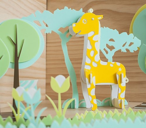 【益智立体拼图】可爱动物系列