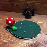 //聖誕新品// 暖暖聖誕下午茶。蘑菇壺墊