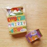 ASAMIDORI 花邊造型 訊息和紙膠帶【小狐狸 (AM-MK-037)】