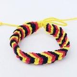 黃紅黑三色編繩