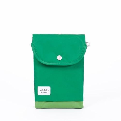 Hellolulu Tess-iPad mini輕便手拿包(草綠)