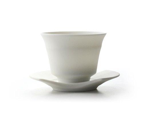 暮暮  白磁煎茶碗組
