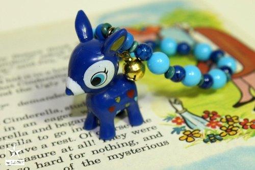 蓝色棒棒糖★玩具手炼