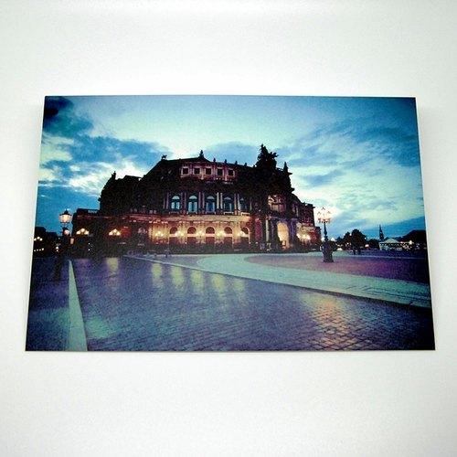 攝影明信片   城市小旅行 - 德國德勒斯登.森帕歌劇院