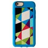Vacii Haute iPhone6 geometric blue cloth protective sleeve
