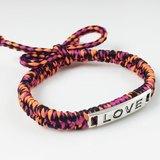 LOVE編繩系列(情人節款式)-紅橘綜合色