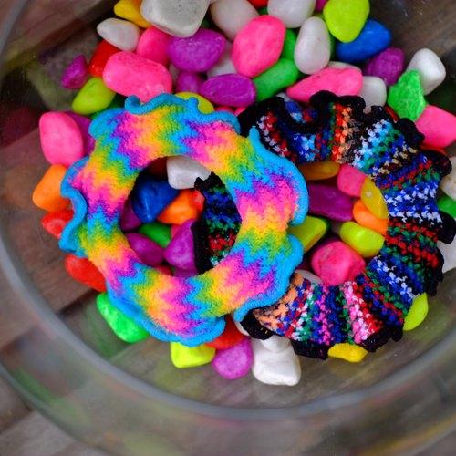 甜甜圈 奇幻海洋系列 海洋微風&黑珊瑚  4個一組