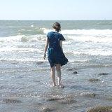﹅和你一起上山下海口袋洋裝 / 海底泡泡、水草、開心小狗口袋洋裝(湛藍)兩種圖案
