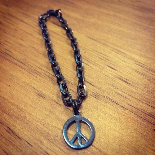 和平结手链编法图解